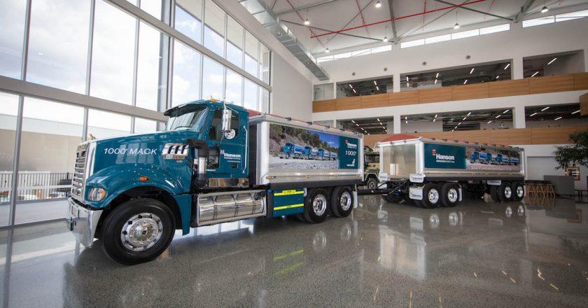 1,000th Mack truck built for Hanson