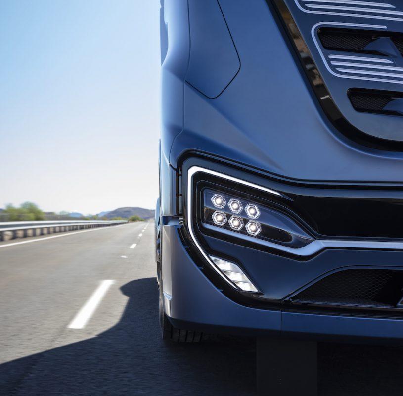 two new zero emission heavy-duty trucks