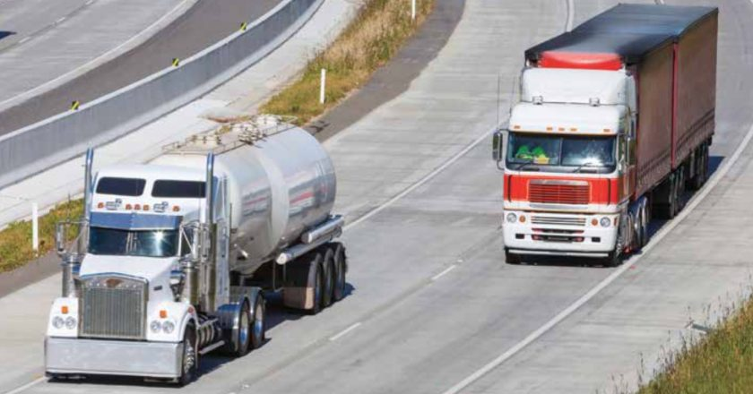increasing challenges for road freight