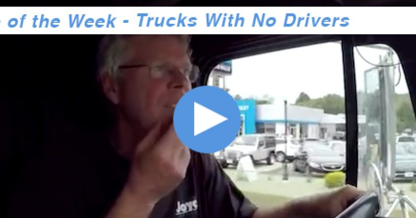 trucks with no drivers