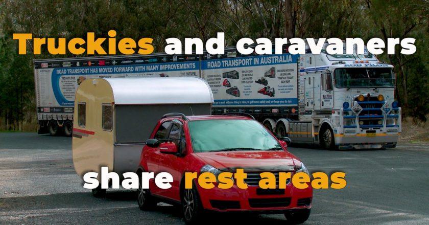 the war between caravans and trucks