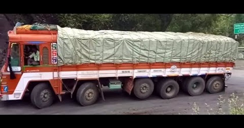 pushing trucks to their absolute limit