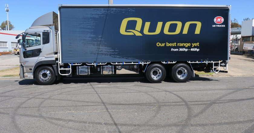 new eight litre Quon package
