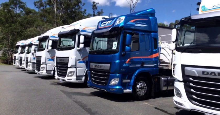 Euro 6 DAF arrives in Australia