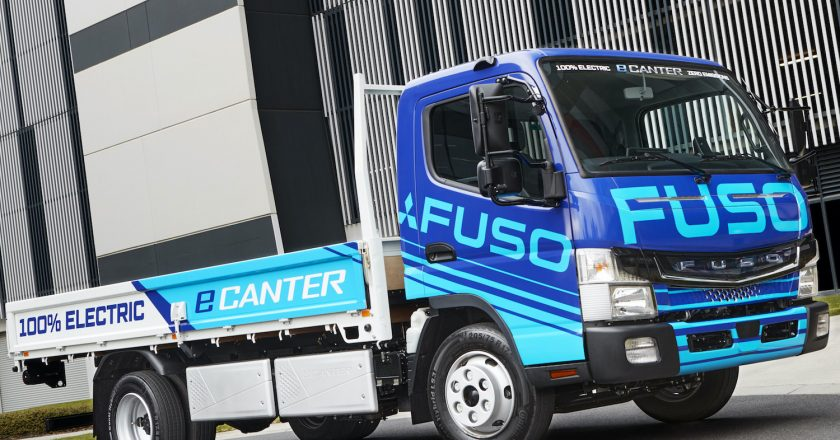 first all-electric light truck in Australia