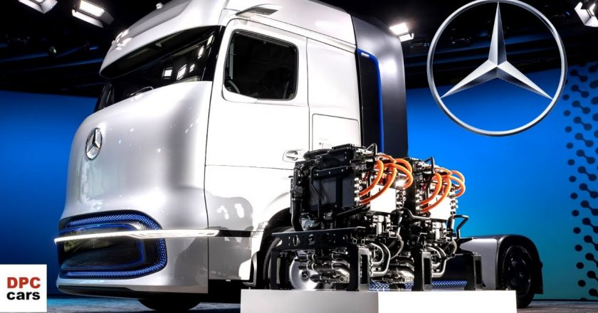 how does a hydrogen fuel cell truck work?