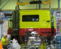 Euro 6 trucks rolling off the line in Wacol