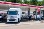 the issue of hydrogen powered trucks