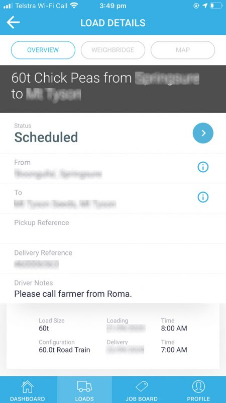 a simple platform on a mobile phone