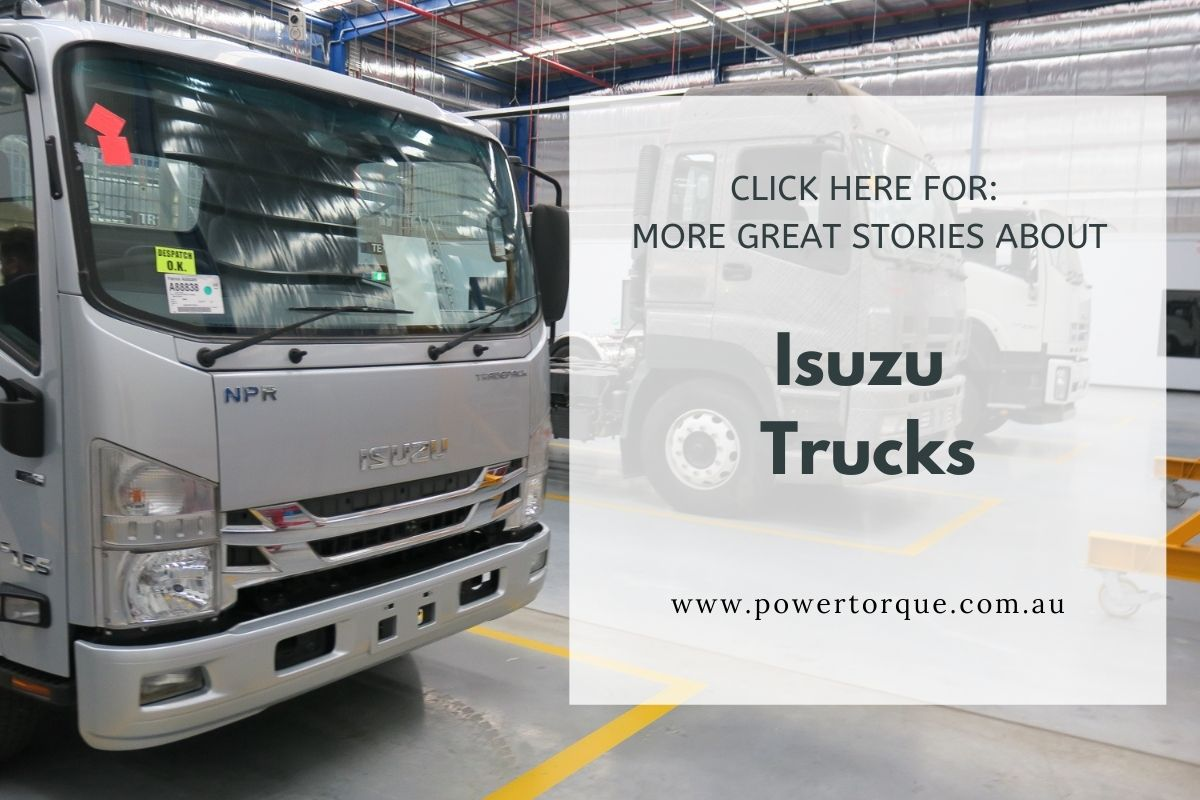 Isuzu pulling out of the show