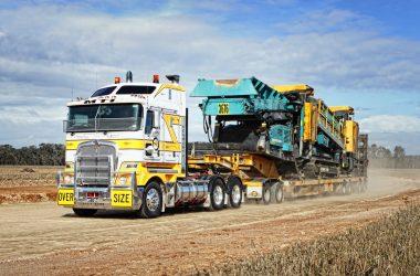 hauling scrap metal for BHP